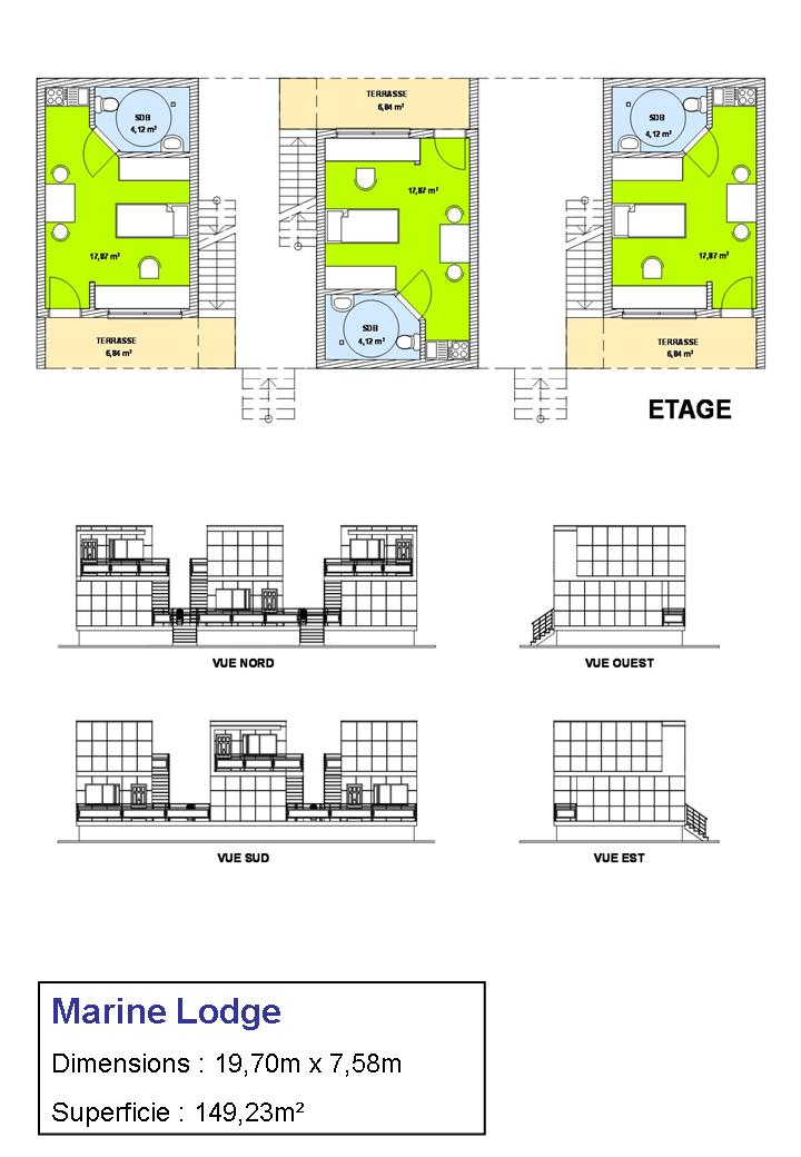 MARINE LODGE PLAN